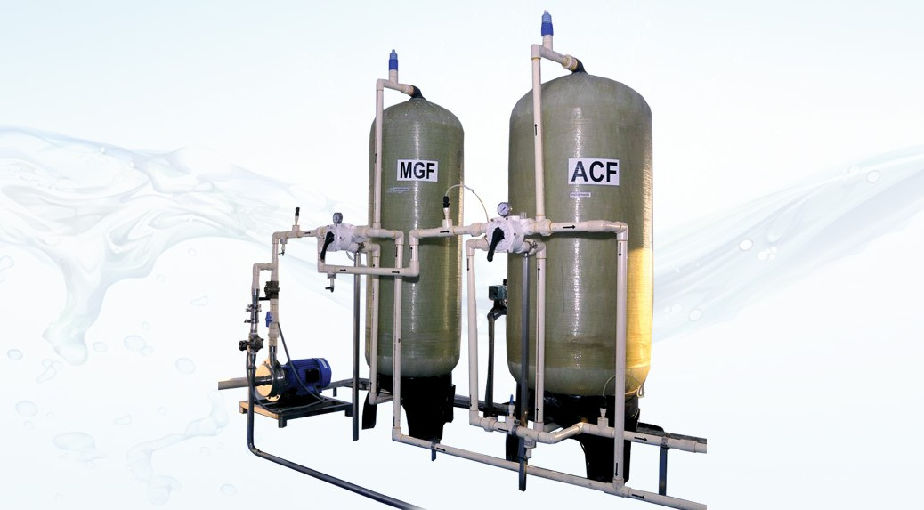 Multi Grade Sand Filters Activated Carbon Filters And